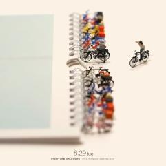 miniature-calendar-Bicycle-Parking