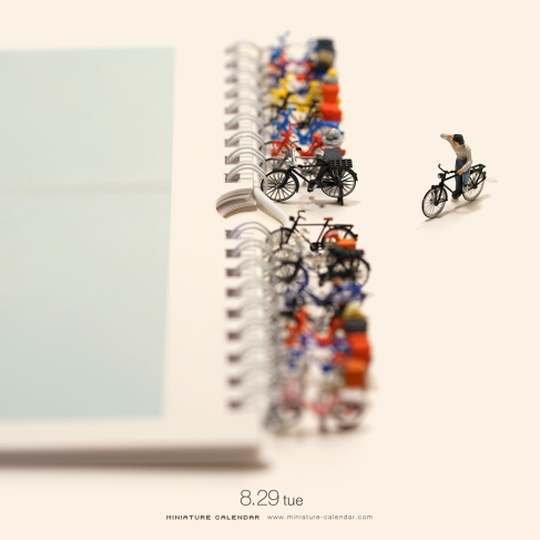 miniature-calendar-Bicycle-Parking