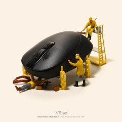 miniature-calendar-Mouse-Car