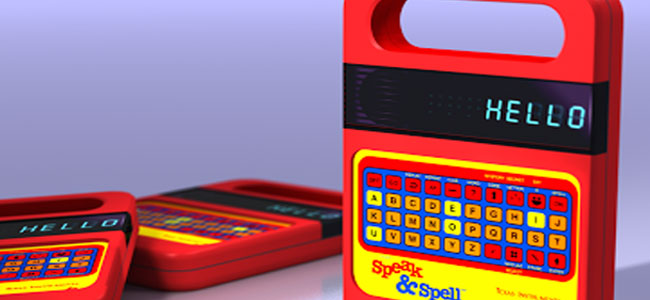 Speak-and-Spell
